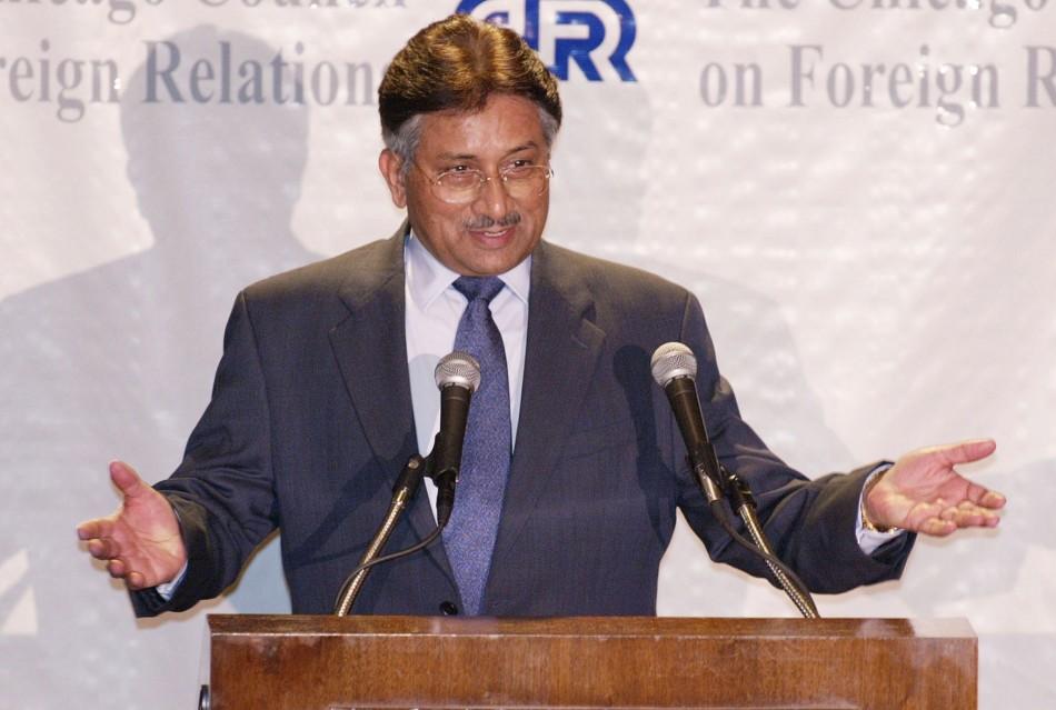 Pakistan's Pervez Musharraf
