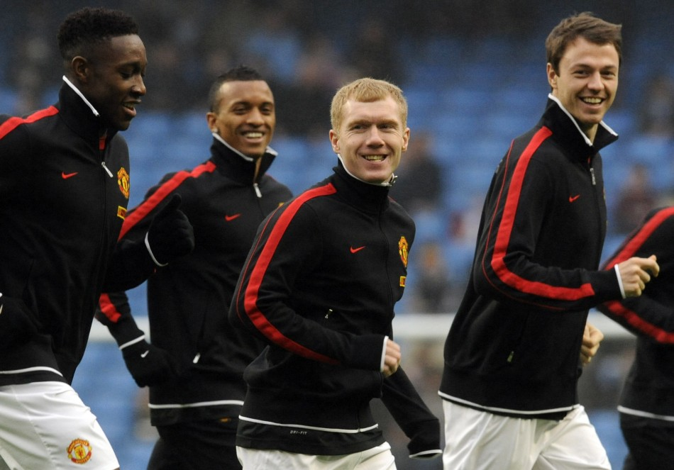 Paul Scholes is back for Manchester United