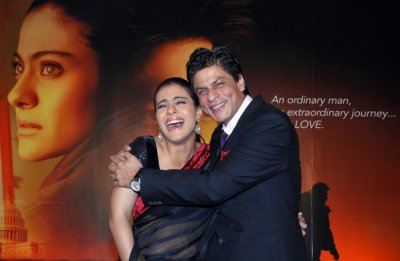 Shah Rukh Khan R and Kajol Devgan