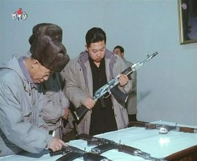 New leader of North Korea Kim Jong-unKim Jong-un inspects weapons