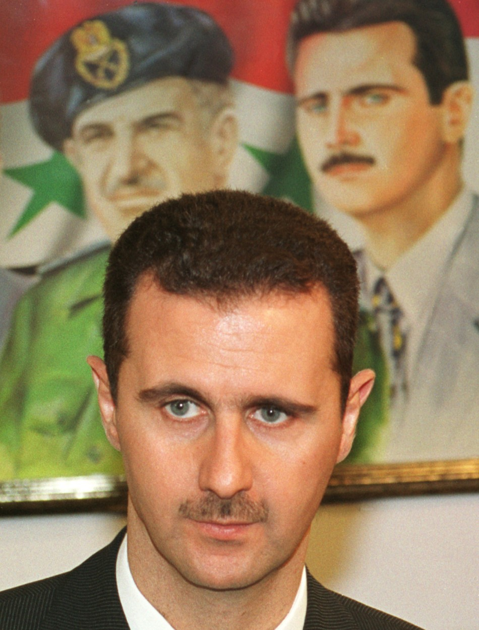 FILE PHOTO OF BASHAR AL ASSAD
