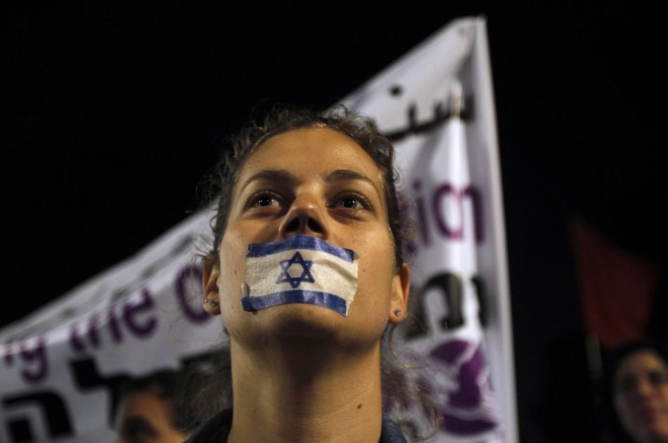 Human Rights Demonstarions in Tel Aviv