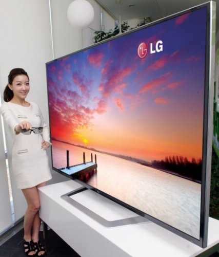 LG announces massive 84-inch TV. Wallets everywhere weep