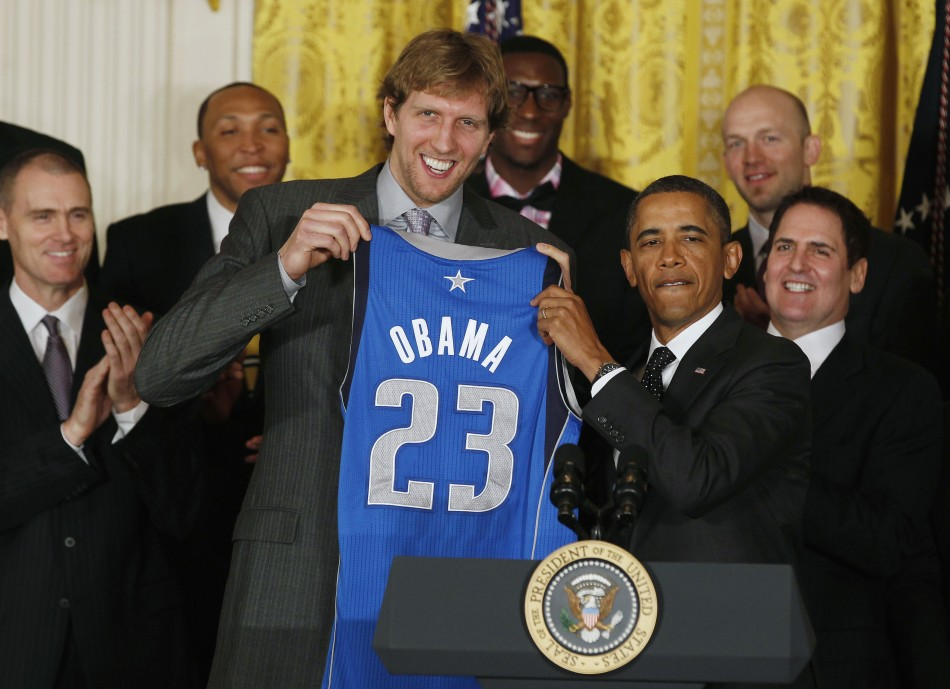 Dallas Mavericks Felicitated