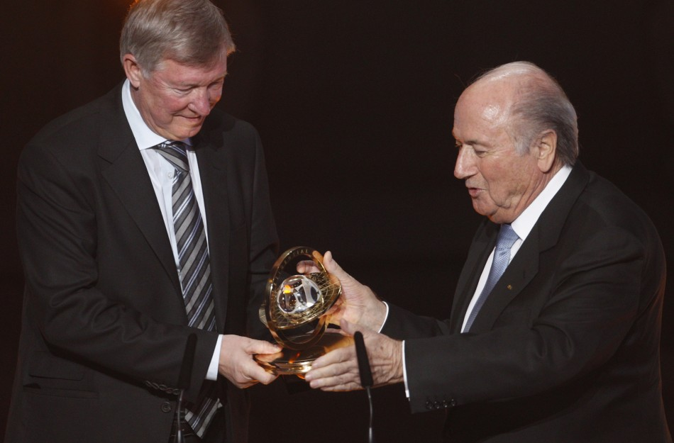 FIFA Presidential Award winner Sir Alex Ferguson