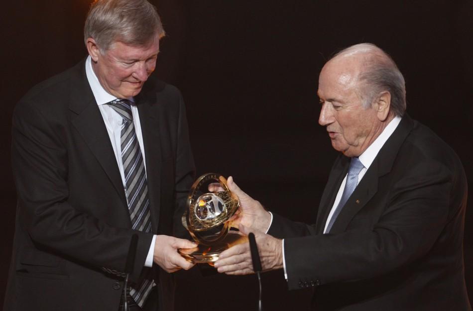 FIFA Presidential Award winner Sir Alex Ferguson