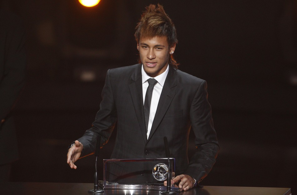 Neymar takes out Goal of the Year award