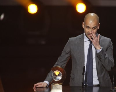 Guardiola the undisputed best manager of 2011