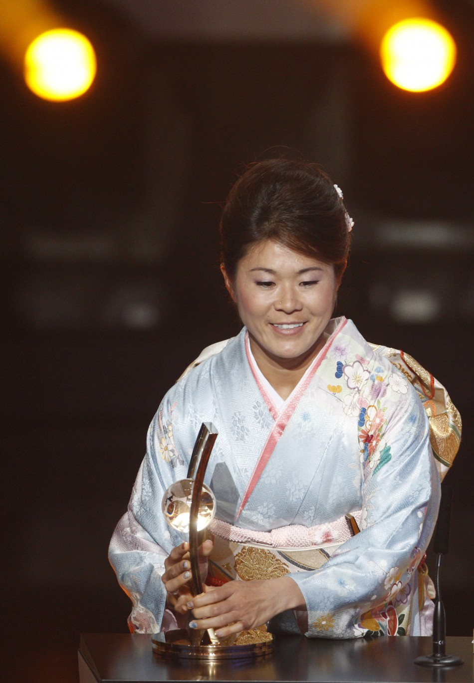 Sawa wins the Women's Player of the Year