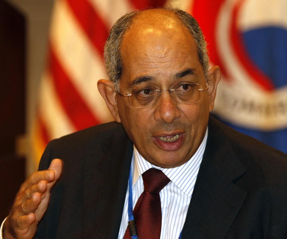 Former Egyptian Finance Minister Boutros Ghali