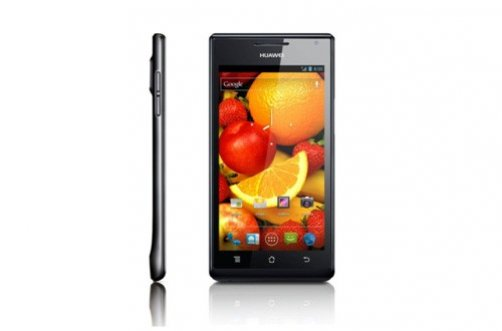 CES 2012: Huawei Ascend was unveiled