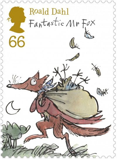 Popular Roald Dahl Characters Appear on British Stamps