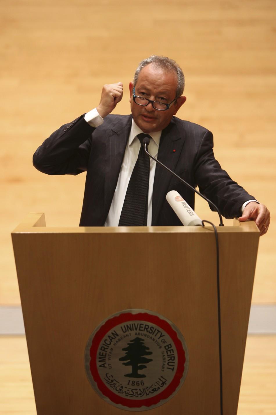 Orascom Telecom chairman Naguib Sawiris
