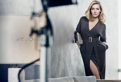 Kate Winslet Smoulders in Sultry Photoshoot for St. John