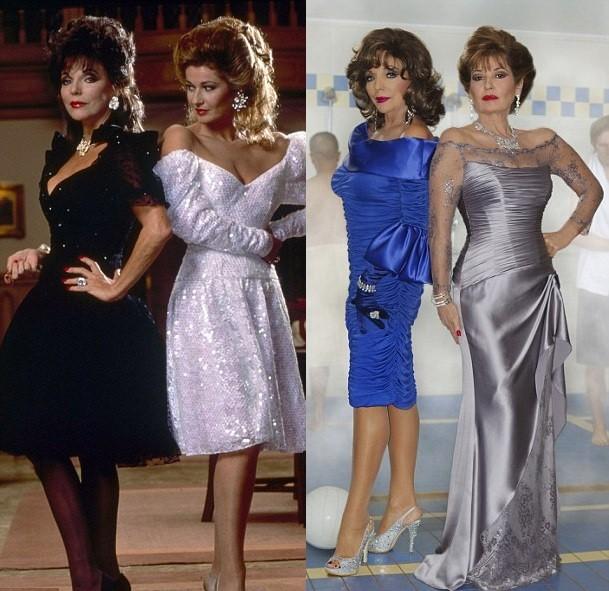 Dynasty Divas Joan Collins And Stephanie Beacham Reunite