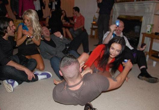 uk Orgy-Party Böse schwarze Ebenholzpornos
