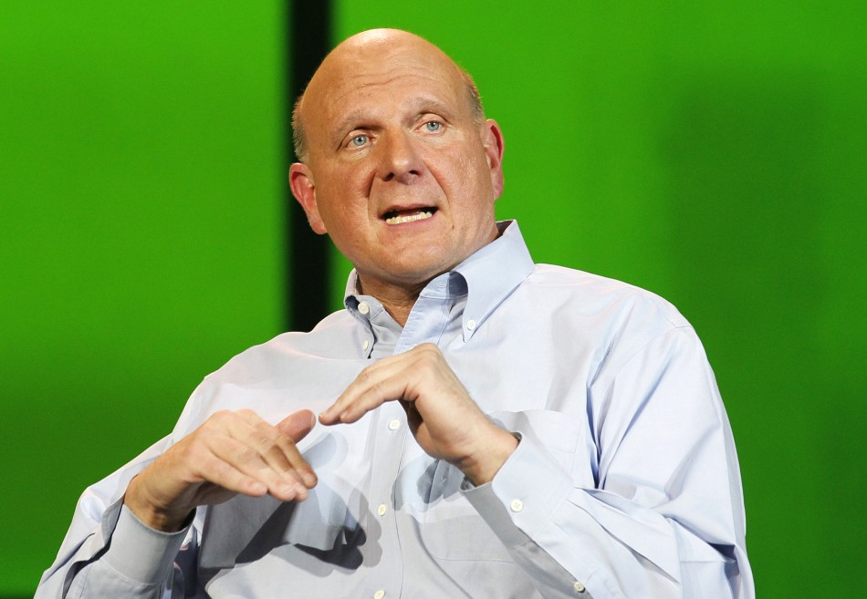 Microsoft's Steve Ballmer Upbeat on Market Prospects of Windows 8, Surface