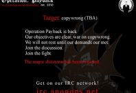 OpPayBack: Anonymous Target Dutch 'Pro-Censorship' Foundation