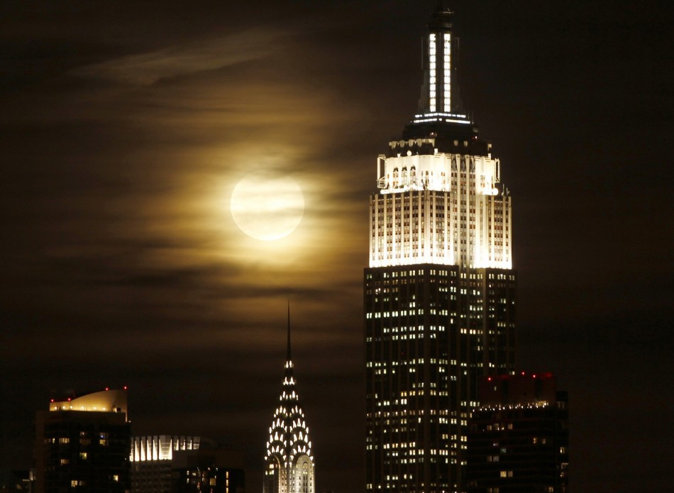 Chrysler Building and the Empire State Building