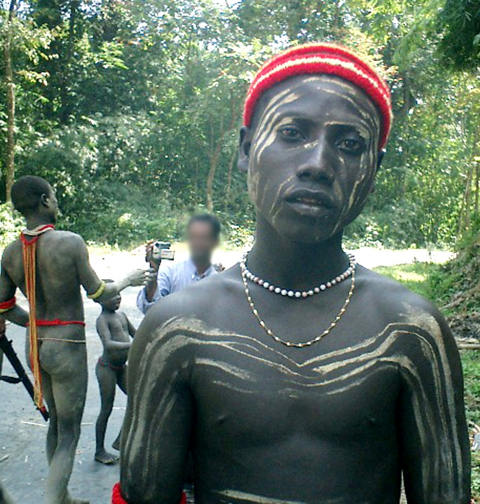 India Andamans Jarawa Tribe Women Face Sexual -1873