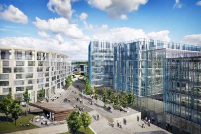 The vision for Airport City has been created by Manchester Airports Group