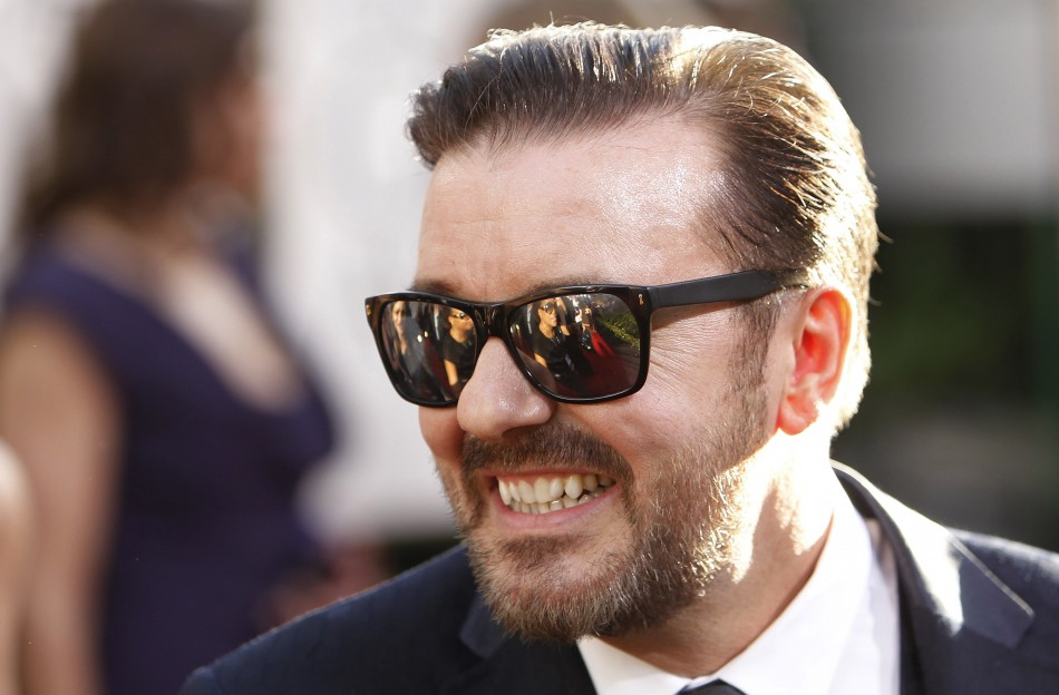 "Ricky Gervais from ""The Office"""