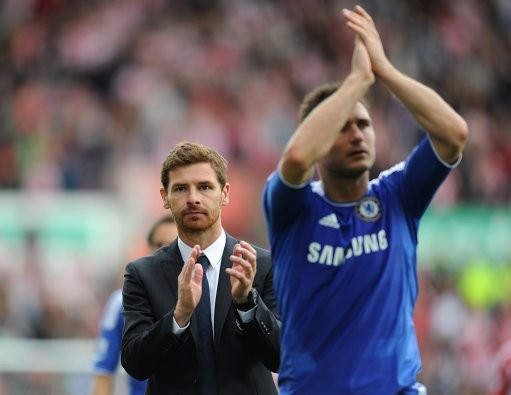 Lampard and Villas-Boas