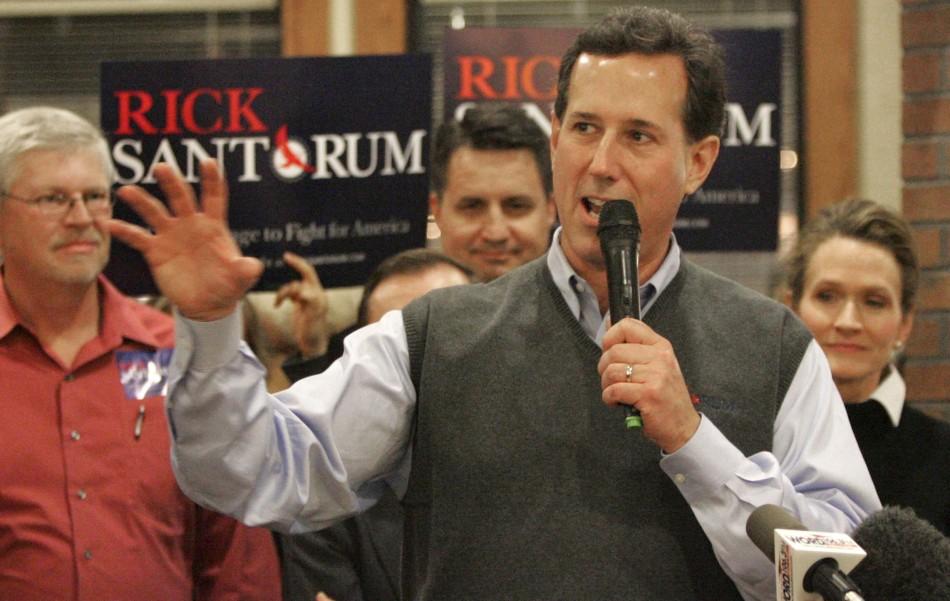 Rick Santorum's Sweater Vests