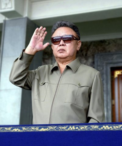 Kim Jong-ils Khaki Safari Suits and Sunglasses