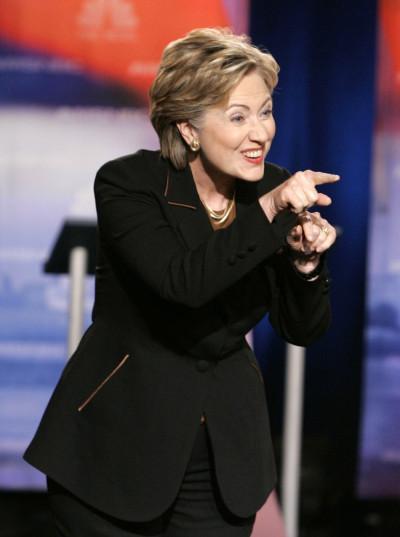 Hillary Clintons Pantsuits