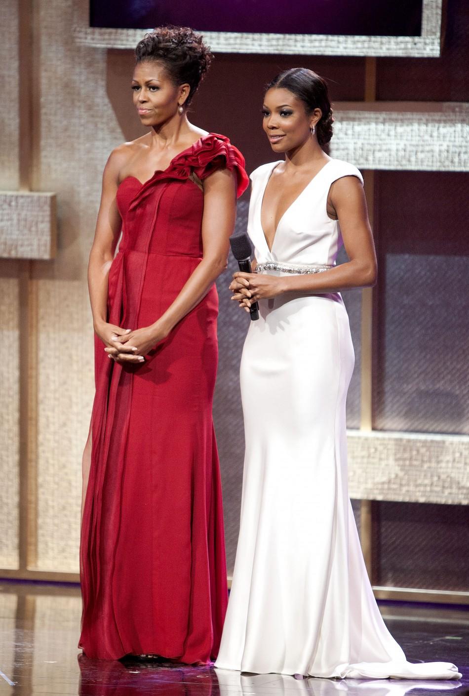 Michelle Obama Glitters At Bet Awards Slideshow