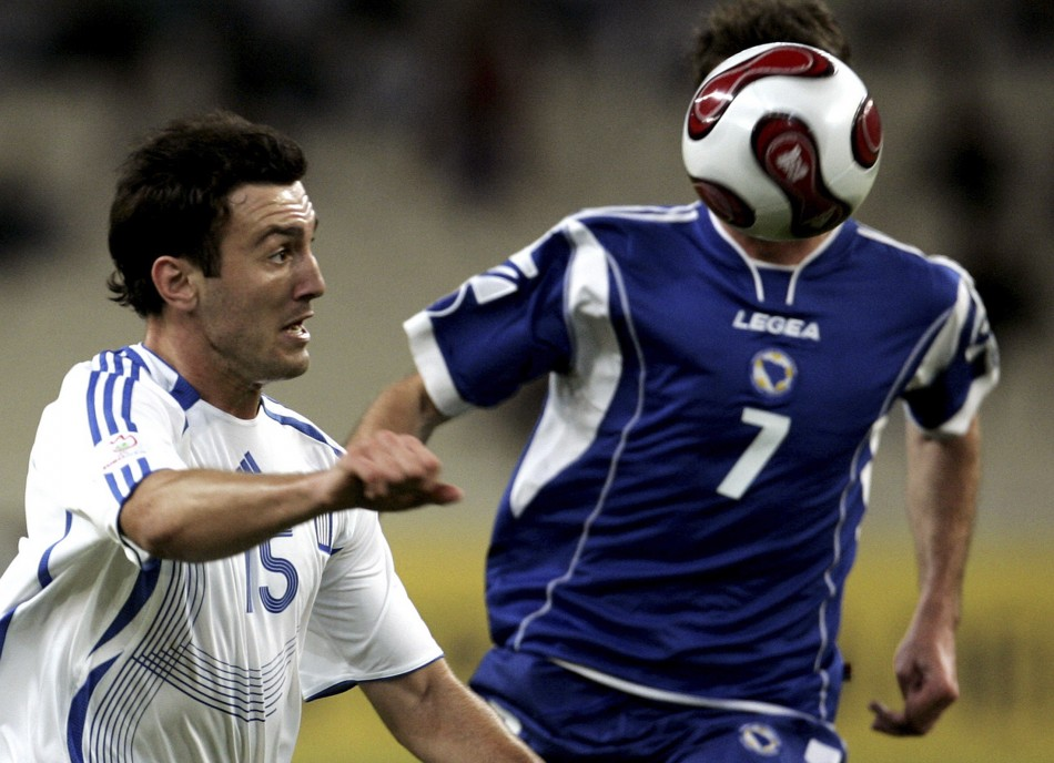 Vasilis Torosidis has been linked with a move to Manchester United