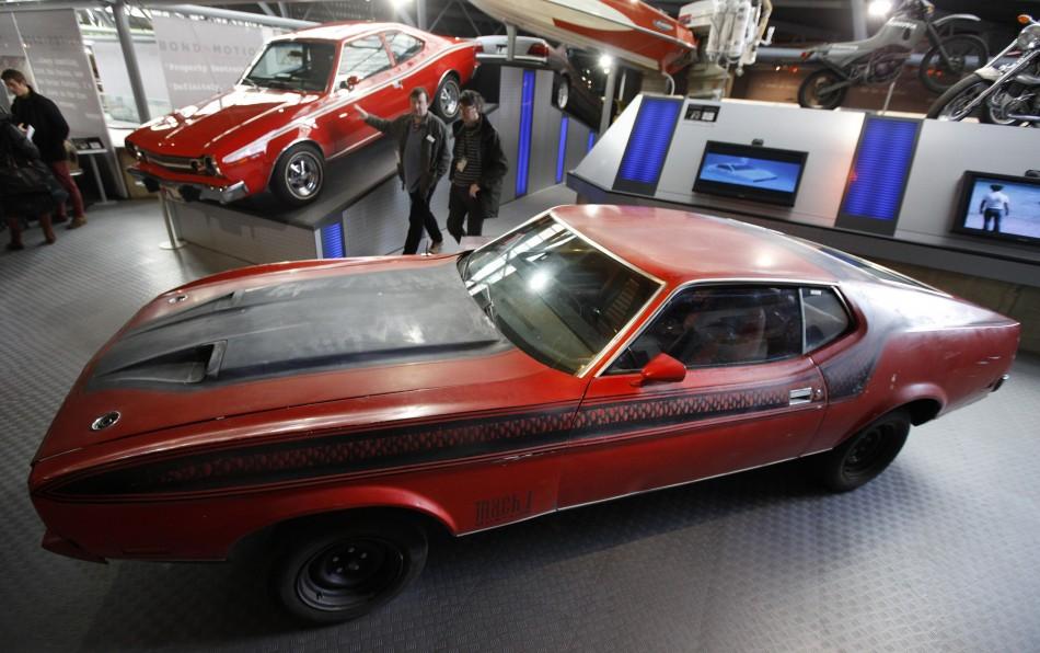Exclusive James Bond Vehicle Exhibition Celebrates 50 Years of Bond Franchise