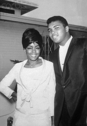Muhammad Ali and Wife Sonji Roi
