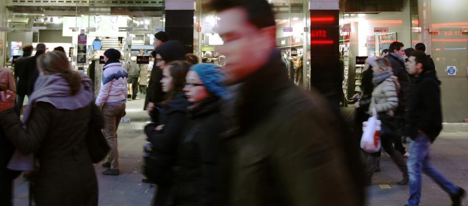 Retail staff violence