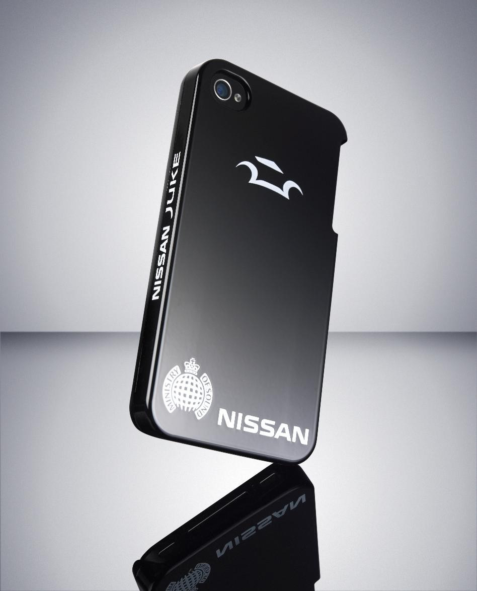 Self-healing iPhone case by Nissan