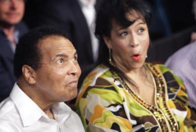 Muhammad Ali and Yolanda