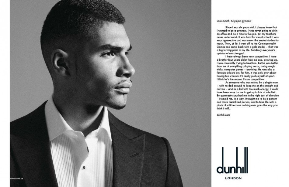 Olympian Athletes Stars in Alfred Dunhill Spring Summer 2012 Voice Campaign