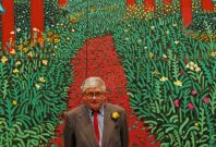 Hockney's 'A Bigger Picture 'at the Royal Academy Showcases 150 Canvases