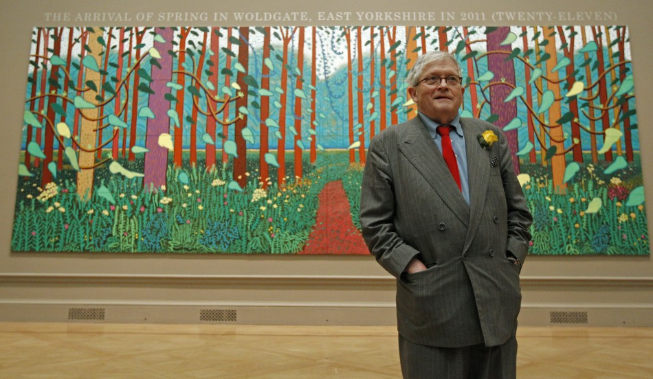 Hockney039s 039A Bigger Picture at the Royal Academy Showcases 150 Canvases