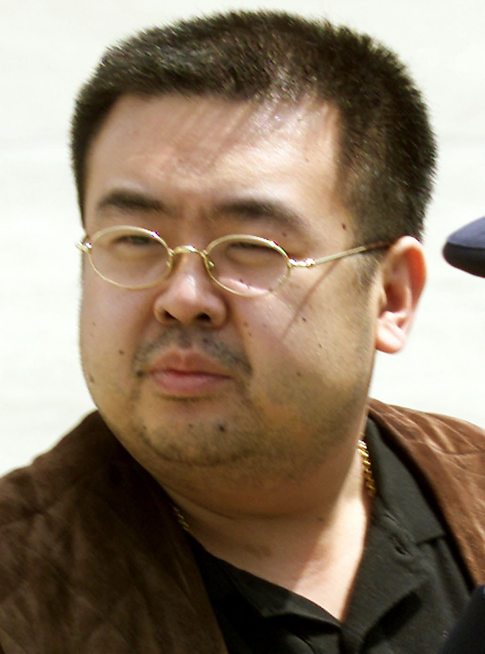 The man believed to be Kim Jong-nam