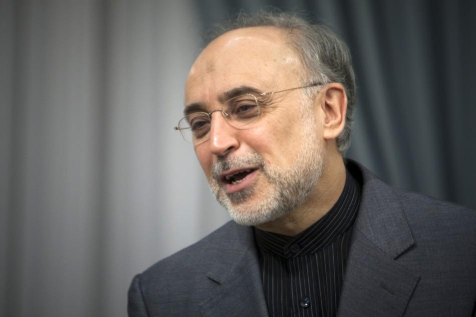 Iran's foreign minister Ali Akbar Salehi