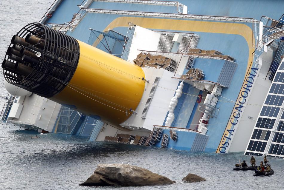 Costa Concordia cruise ship