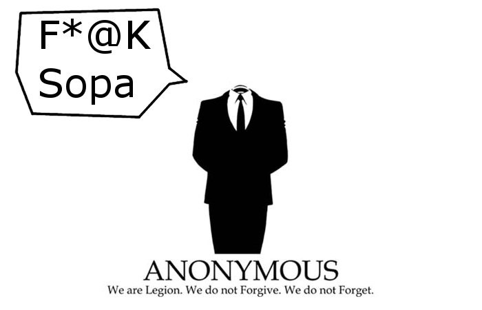 OpBlackOut: Anonymous, Bloggers and Corporations Unite in Anti-Sopa and Pipa Rage