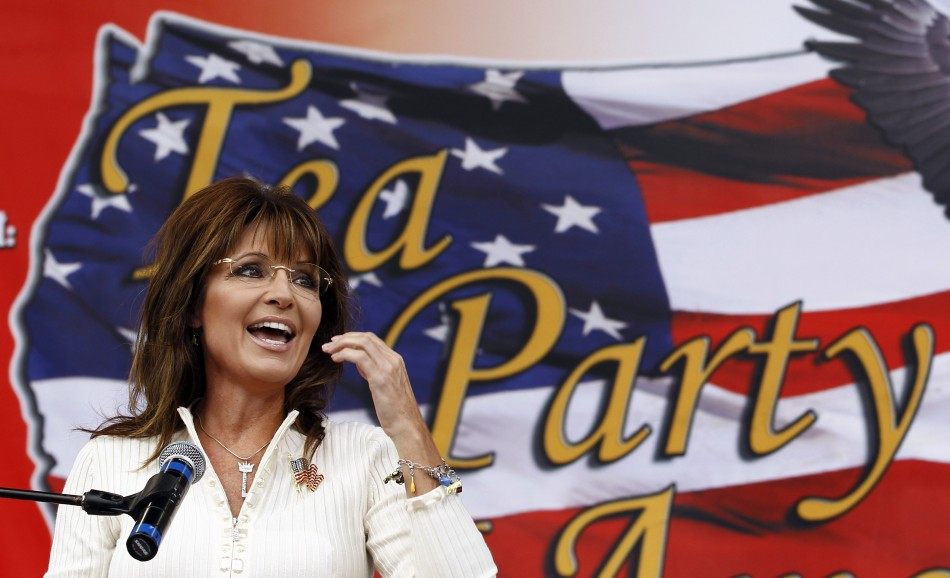 Tea Party supporter Sarah Palin will vote for Newt