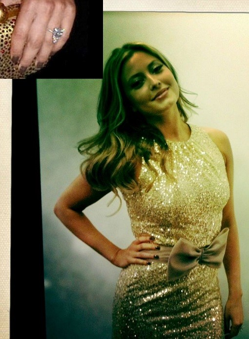 Holly Valance Flashes Her Rock: The Most Bling-tastic ...