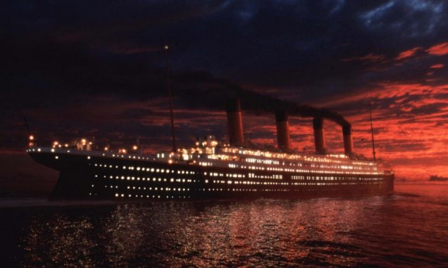James Cameron's blockbuster movie Titanic
