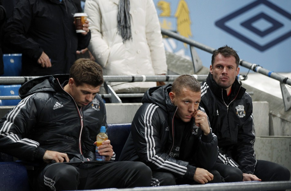 Jamie Carragher insists he will remain patient despite a lack of starts this season
