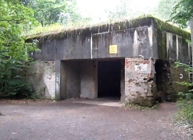 The bunker complex was one of Hitler's main headquarters during WWII (YouTube/martynazza)