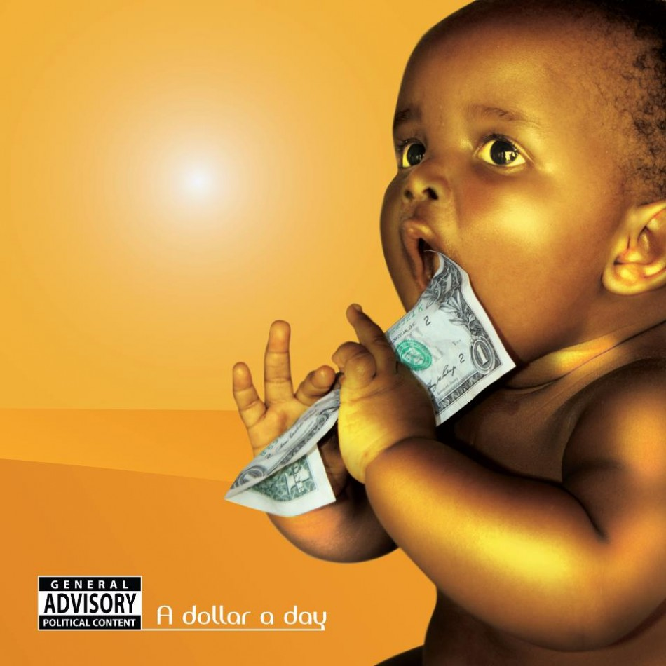 The cover to the album 'A Dollar a Day'